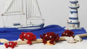 Krabbe Häkelanleitung Teil 2