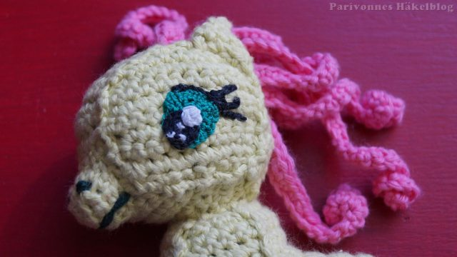 Süße Augen für Pony häkeln
