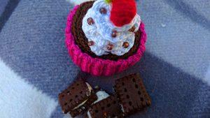 Geschenkdose Cupcake