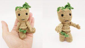 Mini Baby Groot häkeln