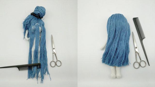 Lilly Haarsträhnen