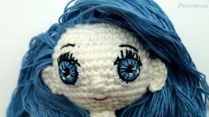 Lilly Puppen-Augen häkeln