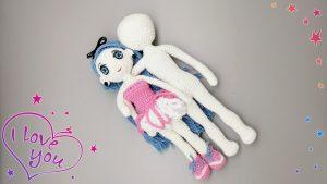 Puppenkörper von Puppe Tim häkeln